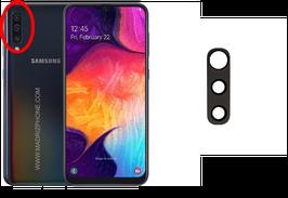 Cambiar / Reparar Cristal camara trasera Samsung Galaxy A70 SM-A705F
