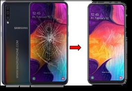Cambiar / Reparar Cristal de la pantalla Samsung Galaxy A70 SM-A705F