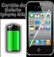 Cambiar / Reemplazar Bateria  APPLE IPHONE 4/4S