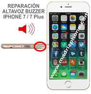 Cambiar / Reparar Altavoz Buzzer  iPHONE 7 / 7 Plus Original