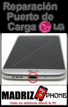 Reparación del Conector,puerto de carga LG G5 H850