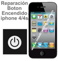 Cambiar / Reparar Boton de Encendido  APPLE IPHONE 4/4S