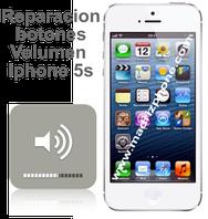 Cambiar / Reparar Botones de Subir/Bajar Volumen Apple iphone 5s