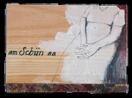 Postkarte am Schiin aa