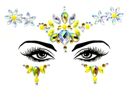 Gesichtsjuwelen ''LIKE A STAR''