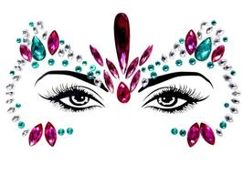 Gesichtsjuwelen ''Shine''
