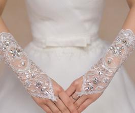 Brauthandschuhe ''White''