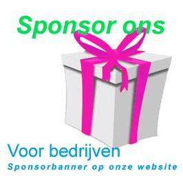 Sponsor op onze website