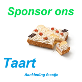 Sponsor een Taart
