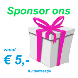 Sponsor kinderfeestje