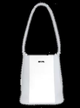 Damenhandtasche weiß/grau