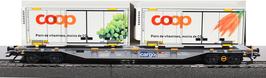 MARKLIN 47096 CARGO SBB CFF  COOP X 2 TRAUBEN / MOHREN / CAROTTE / RAISIN