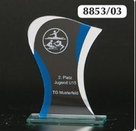 Glastrophäen 8831-03 Lg