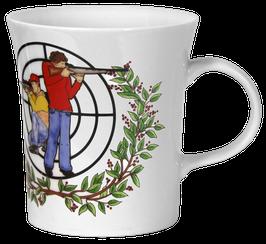 Kaffeebecher Kursiv