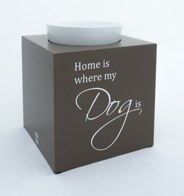 Design Futternapf: Home is where my Dog is