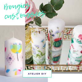 Atelier DIY - customisation de bougies