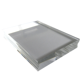 Acrylic Block 10 x 7,6cm - easy grip