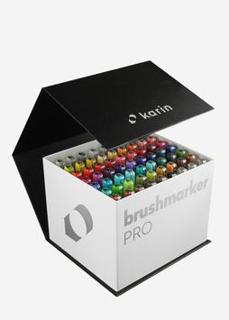 BrushmarkerPRO | MegaBox 60 colours + 3 blenders