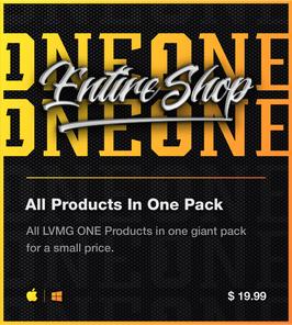 LVMG ONE Entire Shop Bundle