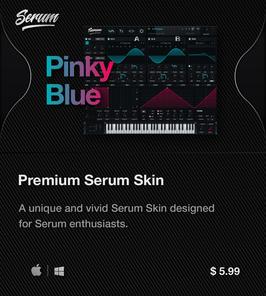 LVMG ONE PinkyBlue Serum Skin