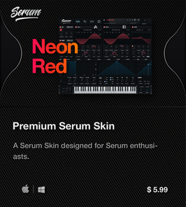 LVMG ONE NeonRed Serum Skin