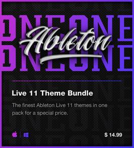 LVMG ONE Ableton Live 11 Theme Bundle