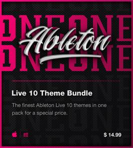 LVMG ONE Ableton Live 10 Theme Bundle