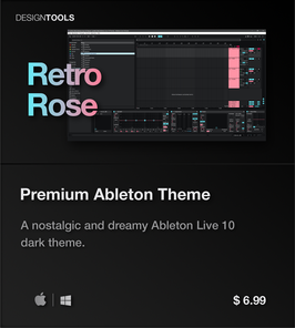 LVMG ONE Ableton Live 10 RetroRose Theme