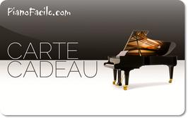 Carte cadeau PianoFacile.com