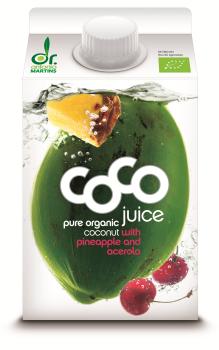 Dr. Martins' Coco Ananas Acerola Drink, Bio Elopack 5dl