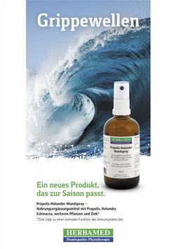 Herbamed Propolis-Holunder Mundspray