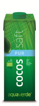 Aqua Verde Coco Drink pur, Bio, Tetra 330ml