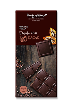 Benjamissimo Raw Cacao Nibs 70%