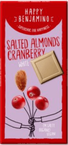 Benjamissimo Salted Almonds Cranberry white
