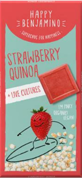 Strawberry Quinoa + live cultures