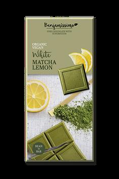 Benjamissimo Matcha Lemon weiß