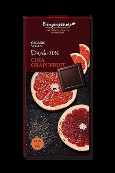 Benjamissimo Chia Grapefruit Dark 70%
