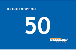 Kringloopbon 50 euro