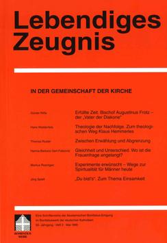 IN DER GEMEINSCHAFT DER KIRCHE- 1995 Heft 2 - 50. Jahrgang