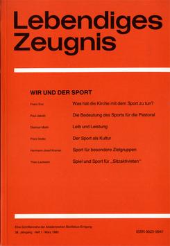 WIR UND DER SPORT  - 1983 Heft 1 - 38. Jahrgang