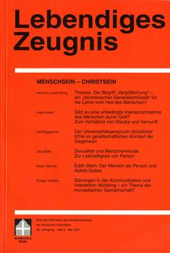 MENSCH SEIN - CHRIST SEIN - 2001 Heft 2 - 56. Jahrgang