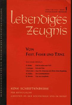 VON FEST, FEIER UND TANZ - 1956 Heft 2 - 11. Jahrgang