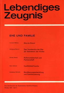 EHE UND FAMILIE - 1973 Heft 3 - 28. Jahrgang