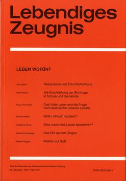 LEBEN WOFÜR? - 1981 Heft 2 - 36. Jahrgang