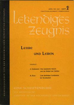 LEHRE UND LEBEN - 1959 Heft 2 - 14. Jahrgang
