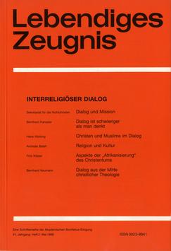 ZEITGEIST UND BILDUNG  - 1986 Heft 3 - 41. Jahrgang