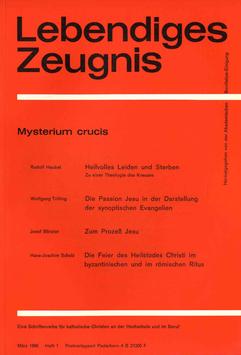 MYSTERIUM CRUCIS - 1966 Heft 1 - 21. Jahrgang