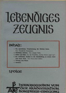 1. FOLGE-AUSGABE - 1947 Heft 1 - 2. Jahrgang
