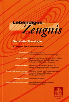 BAUSTELLE THEOLOGIE  - 2006 Heft 3 - 61. Jahrgang