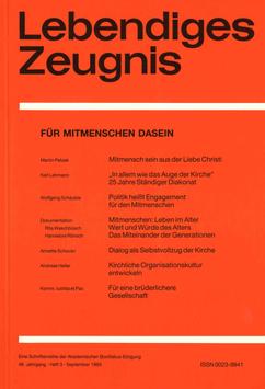 FÜR MITMENSCHEN DASEIN  - 1993 Heft 3 - 48. Jahrgang